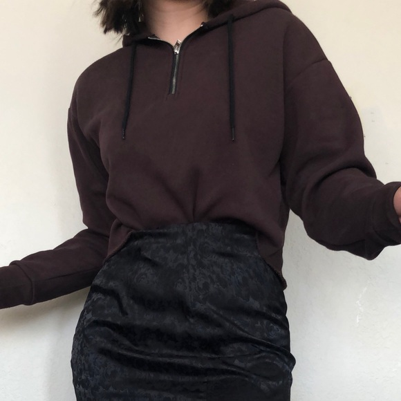 SOLD Cropped hoodie
